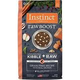 Instinct Raw Boost Grain-Free Recipe with Real Salmon & Freeze-Dried Raw Pieces Dry Dog Food, 4-lb bag