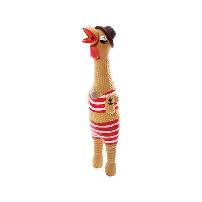 Charming Pets Squawkers Grandpa Gimpy Hip Dog Toy, Large