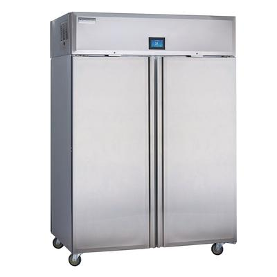 Delfield GADFL2P-S 55 Two Section Commercial Refrigerator Freezer - Solid Doors, Top Compressor, 115v on Sale