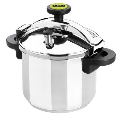 Matfer 013204 8.5 qt Pressure Cooker w/ Plastic Handles, Stainless Steel on Sale
