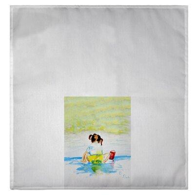 3D Rose Blue Bird in The Wildlife Nature Hand Towel 15 x 22